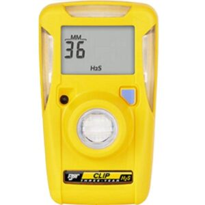 BW CLIP 3 YEAR H2S 10-15 SINGLE GAS DETECTOR