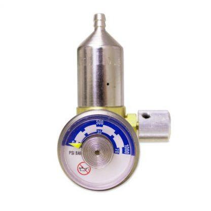 Knob and gauge regulator