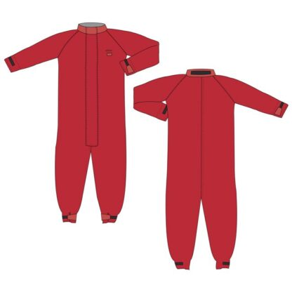 red coverall drawing